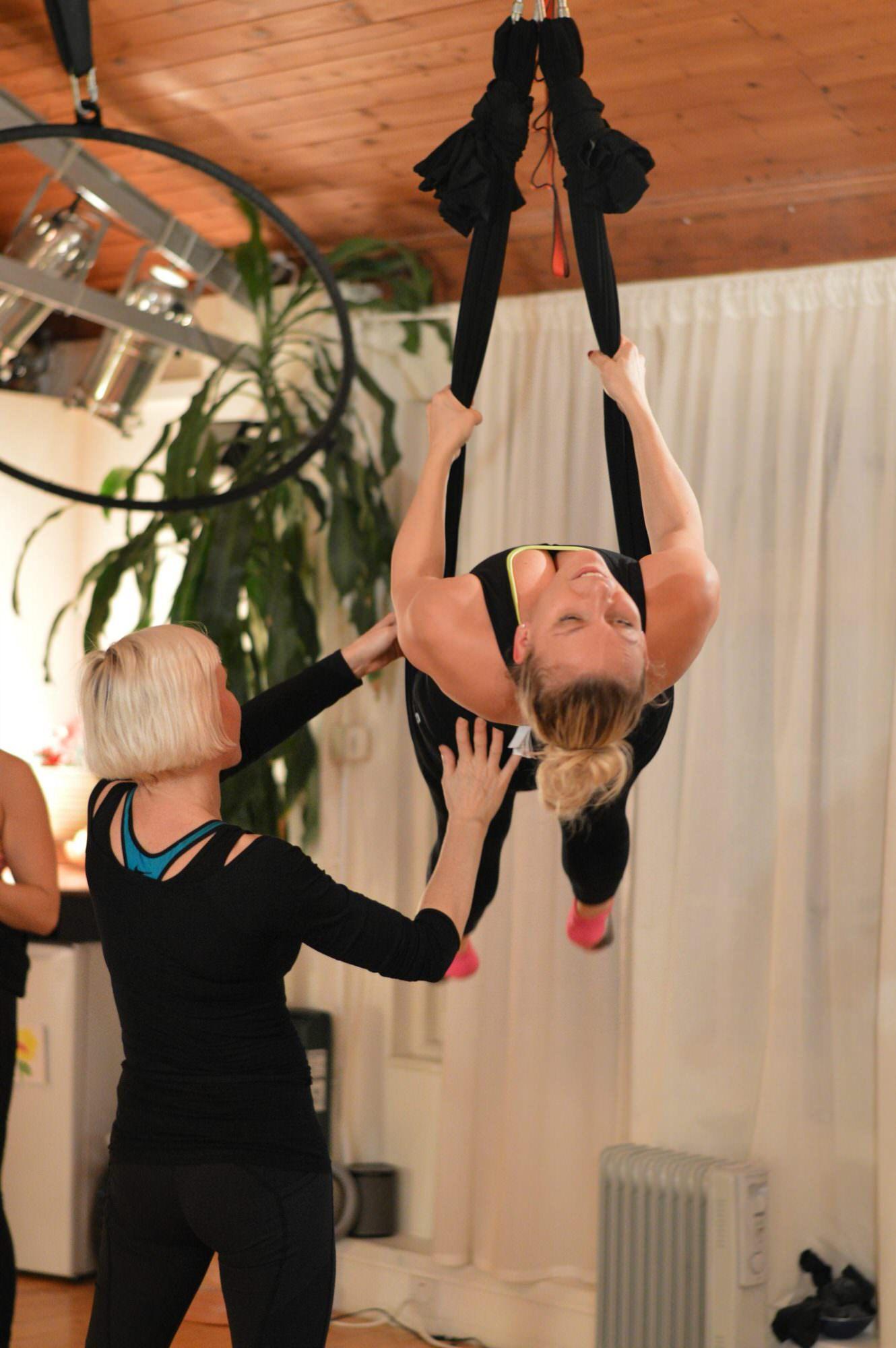 ClassPass London Aerial Yoga