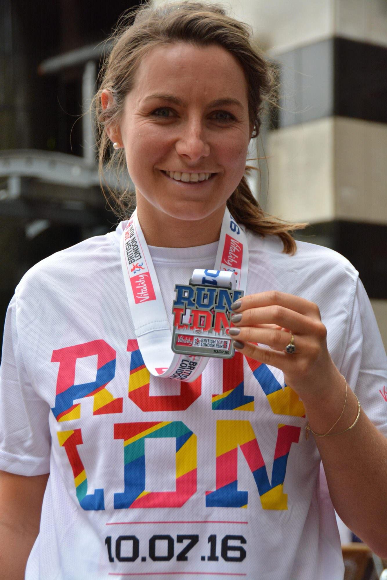 British 10K London Run Race Recap