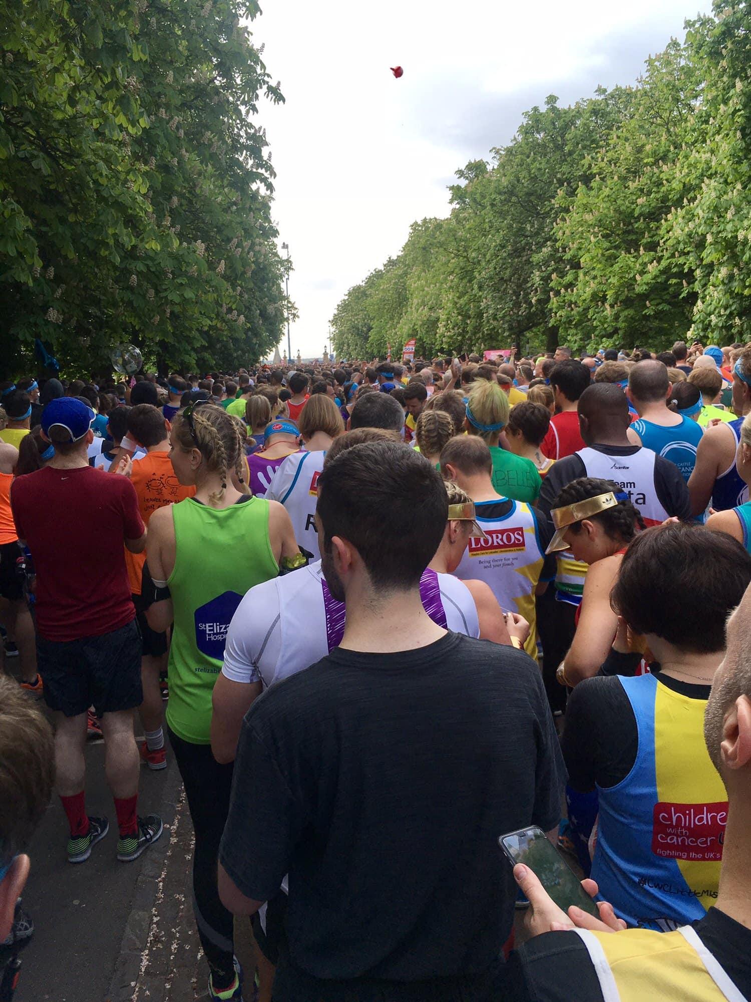 London marathon 2017 Race recap therunnerbeans