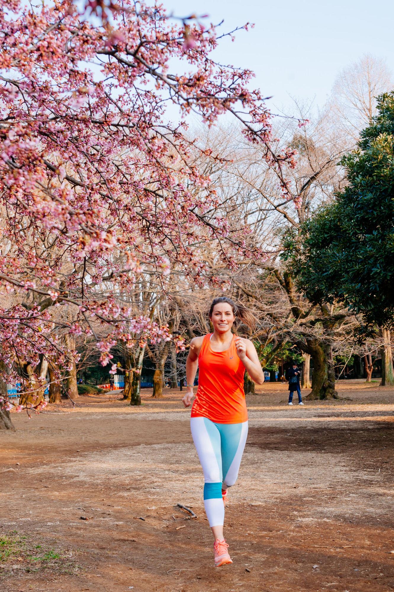 Sakura Asics collection