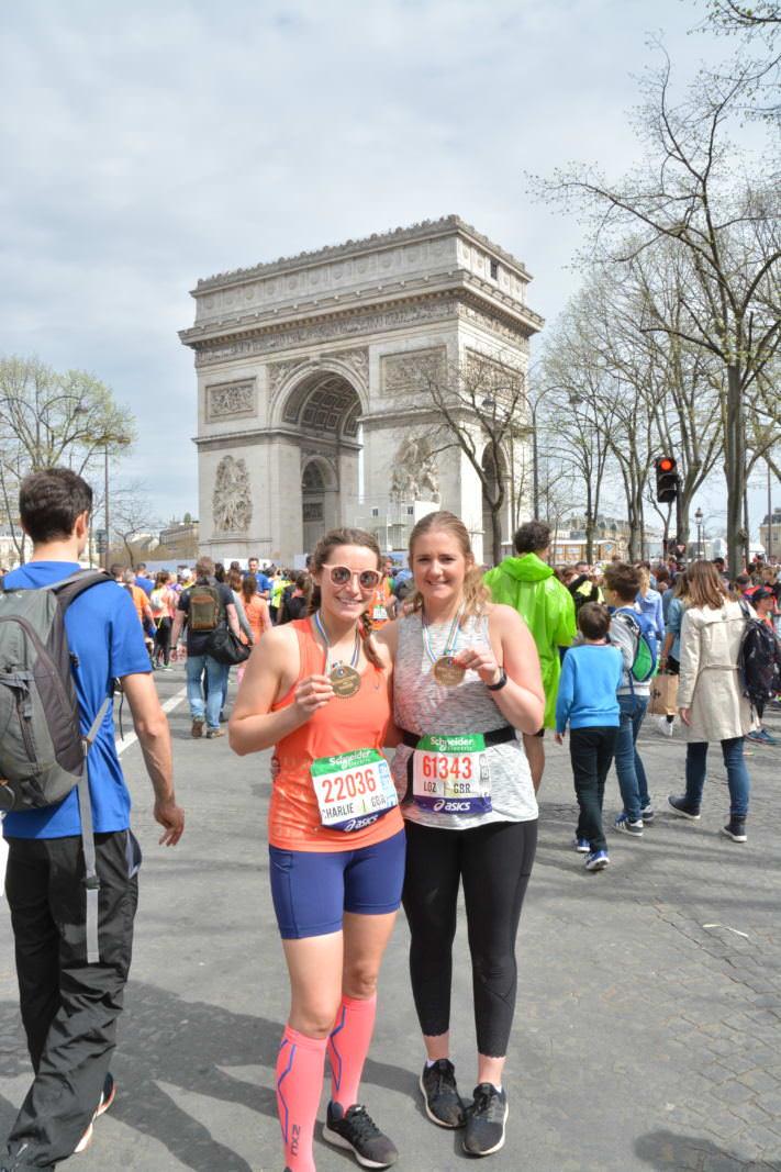 Paris Marathon Race Recap