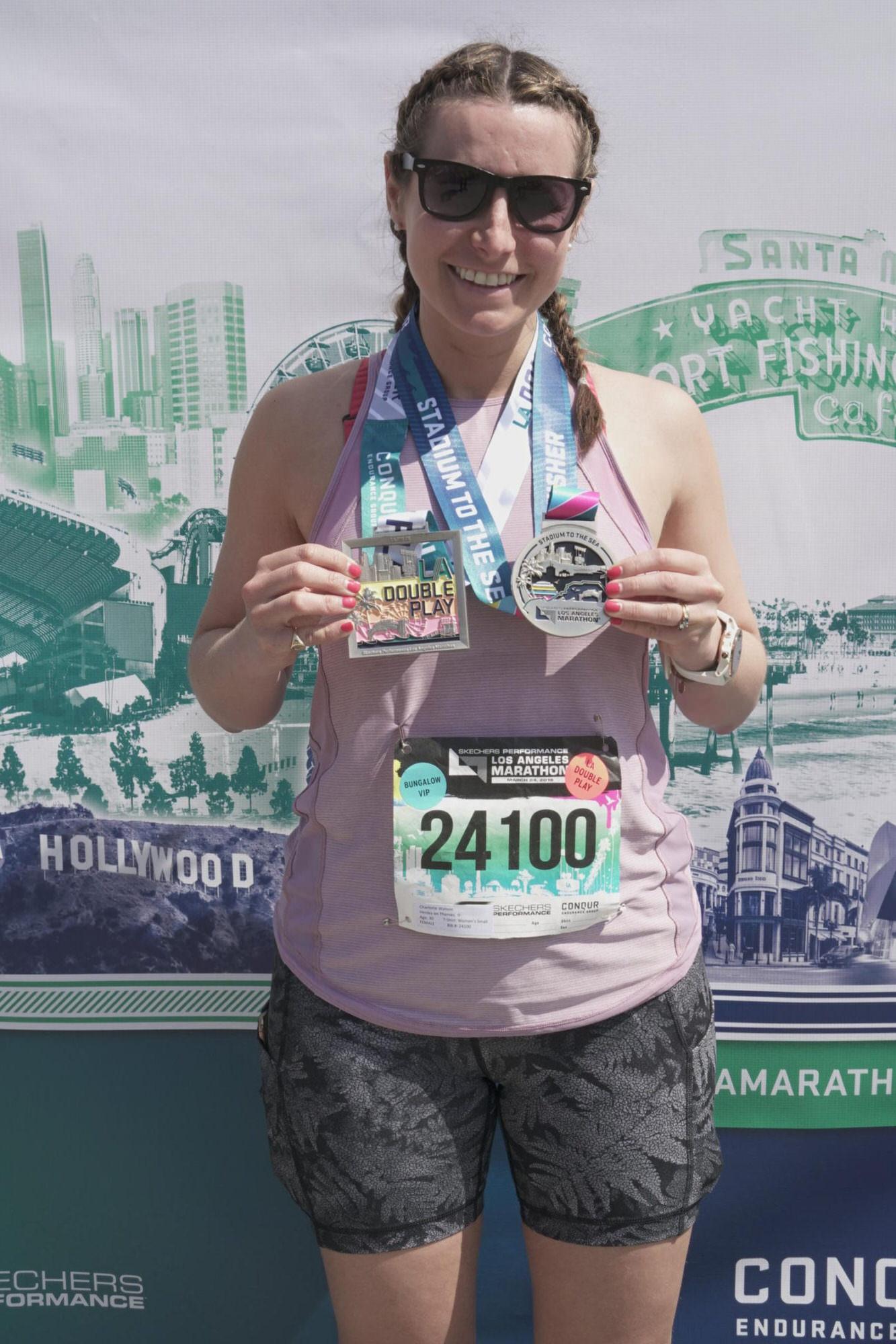 LA Marathon 2019 Race Recap