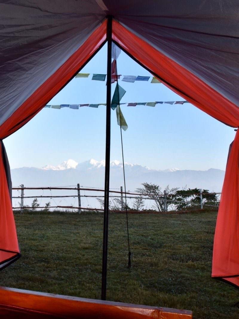 kathmandu camp experience