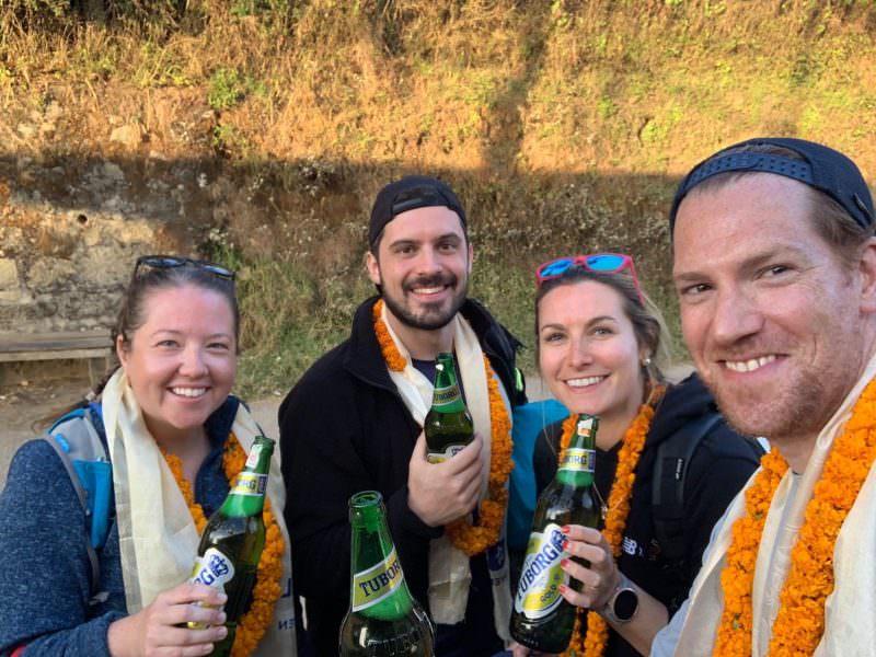 Nepal Impact Marathon Week beers